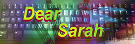 Dear Sarah story front cover