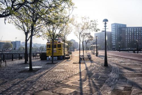 Albert Docks Liverpool early morning