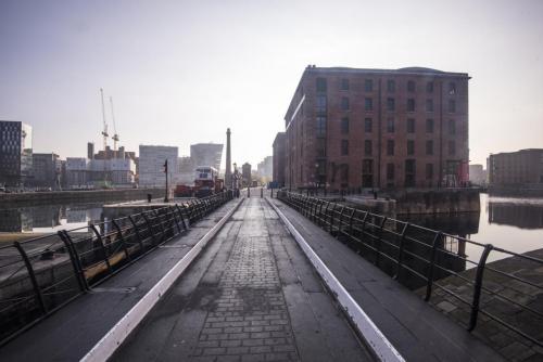 Albert Docks Liverpool early morning 2