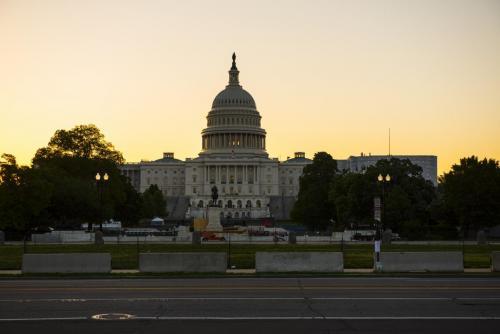 Capitol Building at dawn 2