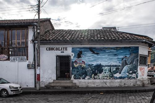 Chocolate and condors en riute to Antisana