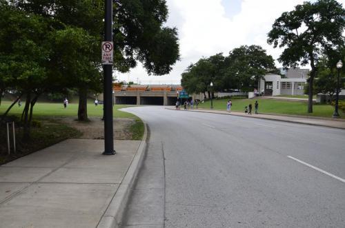 Dallas street JFK route