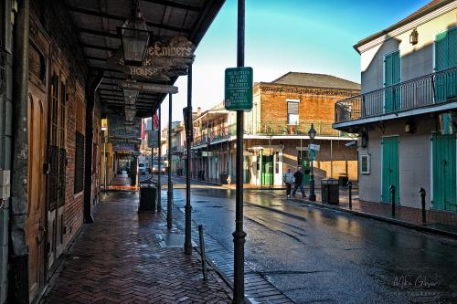 French Quarter New Orleans 12x8