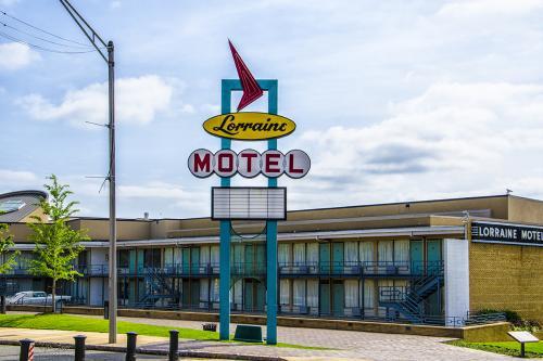 Lorraine Motel Memphis 12x