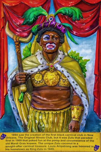 New-orleans-carnival-Zulu-crewe-plaque-12x8