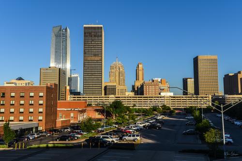 Oklahoma-City-early-morning-12x