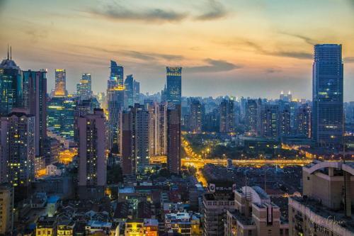 Shanghai-Sunset-12x18