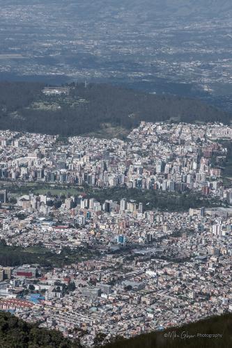 Teleferico Quito, view of city 2 (1)