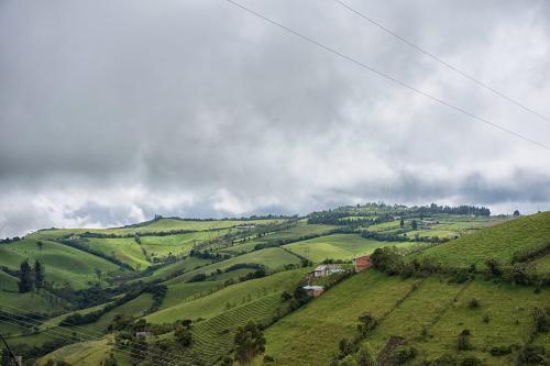 countryside ecuador